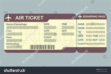 plane ticket template air ticket template where can i get a picture of an