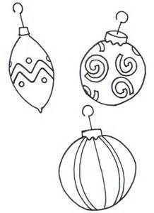 christmas tree ornament coloring pages coloring home
