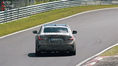 Bmw 3er 2019 Youtube by 2019 Bmw M340i G20 Spied Testing At The N 220 Rburgring