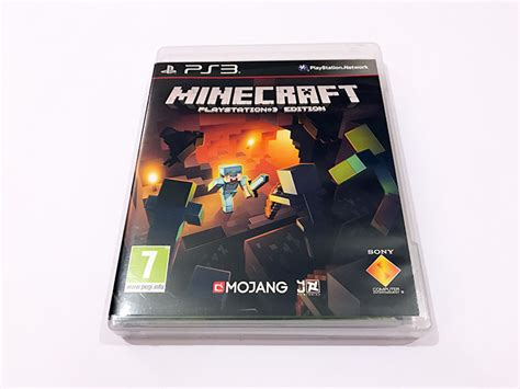 minecraft console ps3 minecraft playstation 3 edition used ps3 for sale