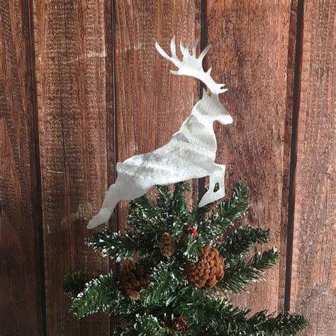 harry potter tree topper harry potter stag patronus handcrafted metal tree topper