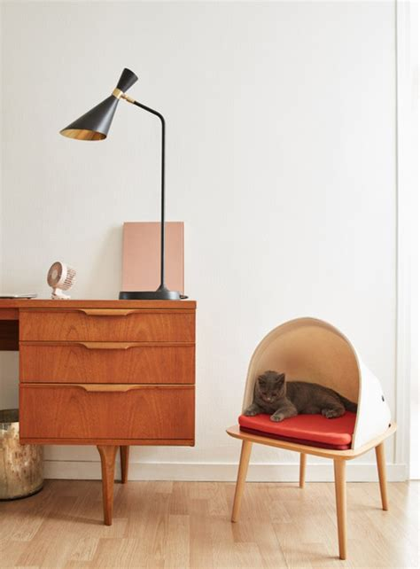 modern cocoon cat furniture by meyou home design and