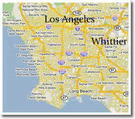 map of whittier california kennedy healthcare recruiting inc