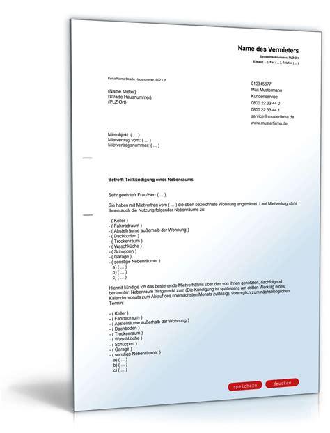 Vorlage Kündigung Wohnung Eigenbedarf K 252 Ndigung Nebenr 228 Ume Durch Vermieter Vorlage Zum