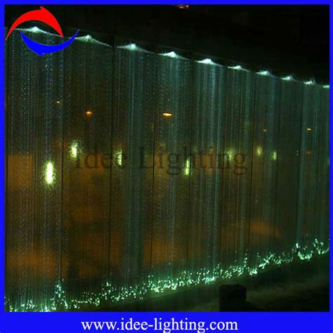 led waterfall curtain lights led fiber optic waterfall light curtain view fiber optic