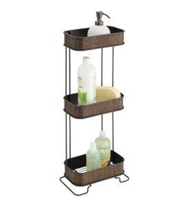 bronze bathtub caddy three tier bath caddy bronze in shower caddies