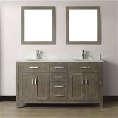 costco mirrors bathroom studio bathe kalize 63 french gray double vanity with