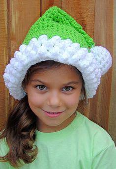 green santa hats tag hats