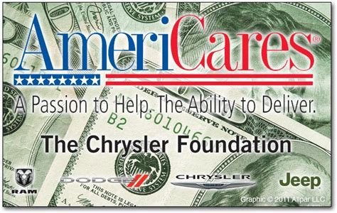 The Chrysler Foundation by News Chrysler Foundation Donates 50k To Disaster Relief