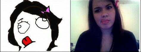 Girl Meme Face - memes faces by a girl 33 pics