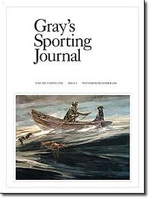 sporting journal gray s sporting journal