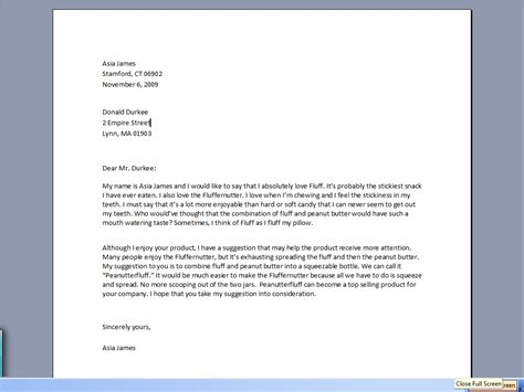 How To Make A Business Letter In How To Write Business Letter The Best Letter Sle