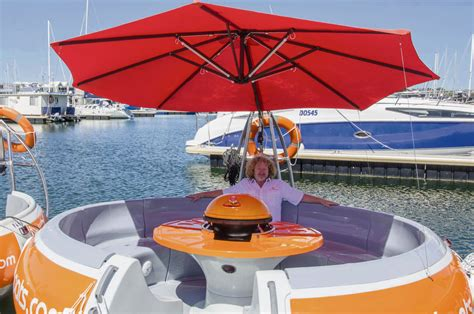 floating boat bbq wa s first floating barbecue experience has opened in