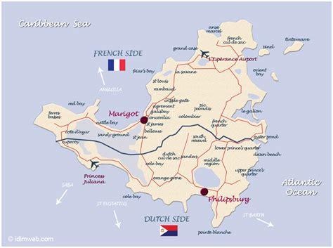 st martin map map of the caribbean islands st martin island caribbeans