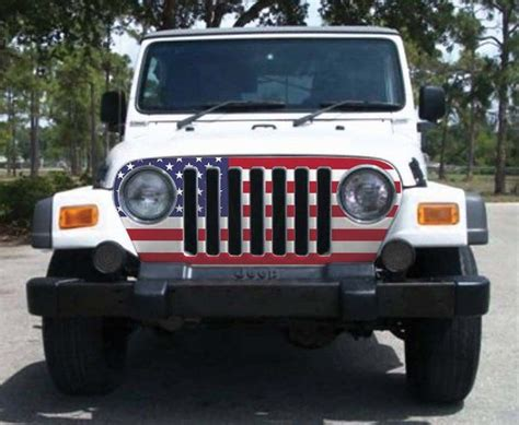 jeep grill skin jeep wrangler grill skin grill wrap stickercrate com