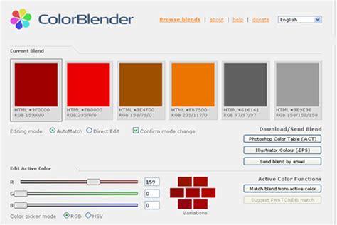color blender color blender themes company design concepts for