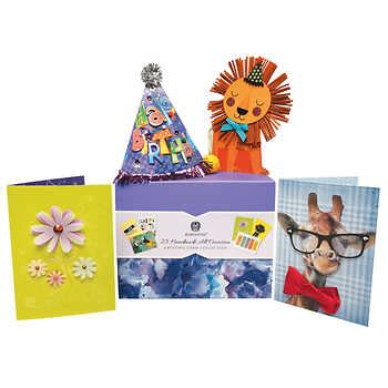 Handmade All Occasion Greeting Card Collection - greeting cards costco