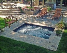 How To Build A Small Backyard Waterfall Inground Hottubs On Pinterest Tubs Spool Pool And