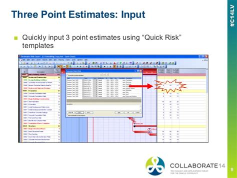 three point estimation template an introduction to primavera risk analysis oracle