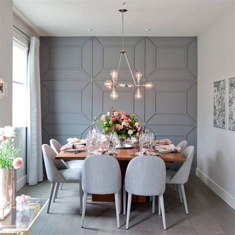 dining room wall designs creative diy wall treatments