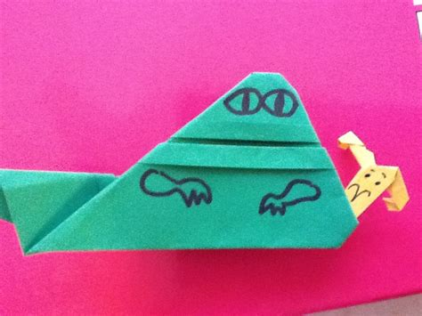 How To Make Origami Jabba - for may the fourth ez origami jabba more