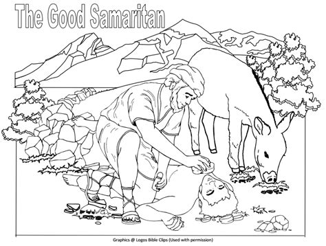 printable coloring pages of the samaritan bible for the samaritan
