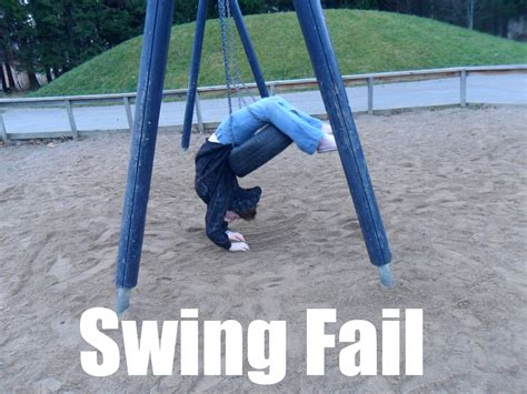 Swing Fail By Polisbil On Deviantart