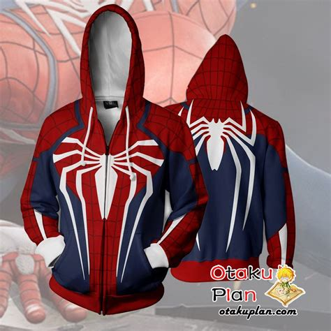 Pdf Spider Morales Costume For Sale by Ps4 New Look Zip Up Hoodie Jacket Otakuplan