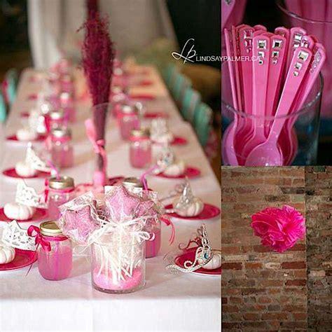 pink theme decorations kara s ideas pink princess cinderella birthday