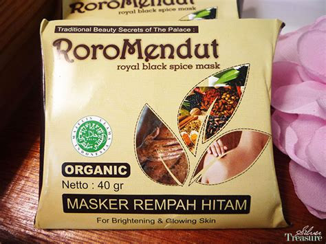 Masker Rempah Roro Mendut sneak peek roro mendut traditional skin care silver treasure on a budget