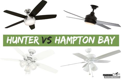 hunter vs hton bay ceiling fans 5 best ceiling fans for high ceilings you can buy today