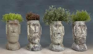 portrait busts on pinterest head planters succulents and planters