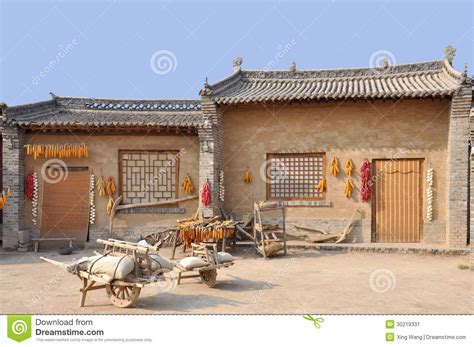 Small Homes China Ancient House In Northern China Stock Image Image 30219331