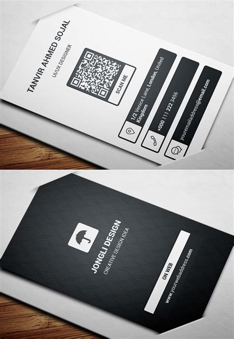 25 new professional business card psd templates design