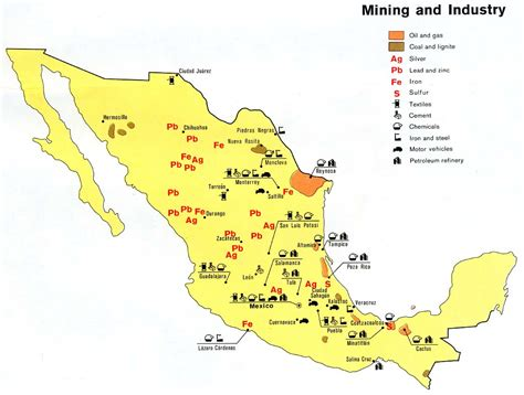 resource map of mexico nationmaster maps of mexico 54 in total