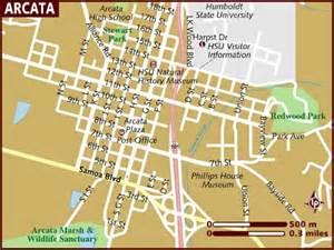 map of arcata