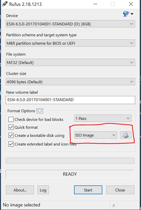 rufus tutorial bootable usb vmware home lab server tutorial using esxi 6 5 free version
