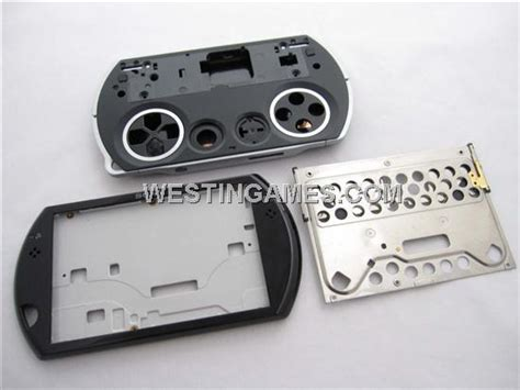 go housing complete replacement housing shell case black for psp go psp go housing shell