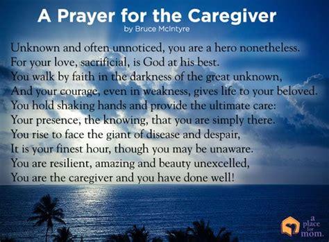 caretakers poem brain cancer awareness poem a prayer for the caregiver inspirational prayers