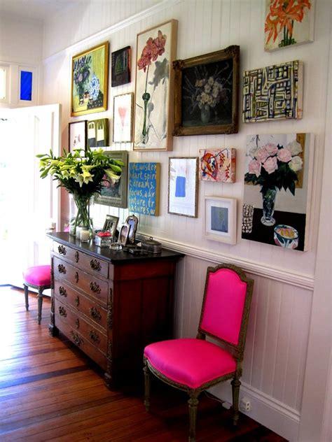 love anna spiros pink chairs