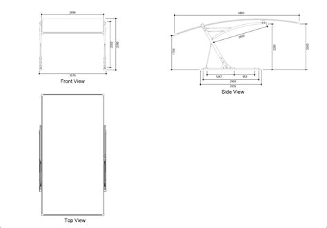 Carport Dimensions by Cantilever Carport Sydney Brisbane Carport Builders
