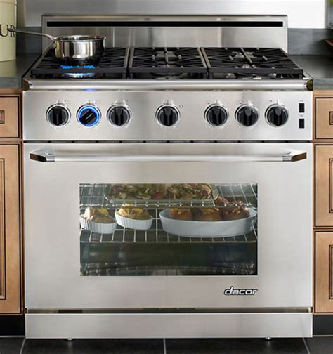 Kitchen Stove Gas by 36 Inch Gas Range Cooker From Dacor 6 Burner Range