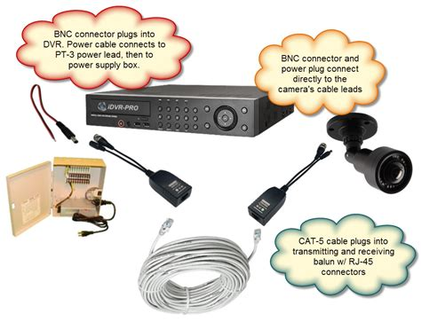 hd cctv balun with power ahd balun hd tvi balun
