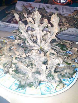 resep keripik daun pepaya jepang tidak pahit