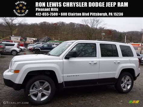 white jeep patriot 2017 2017 bright white jeep patriot latitude 4x4 117319388