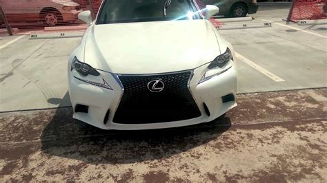 white lexus is 250 interior lexus is 250 f sport 2014 demo white with interior
