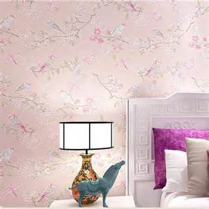 Wallpaper In Home Decor Paper Sugar Picture More Detailed Picture About 3d Modern Wallpapers Home Decor Flower Wall