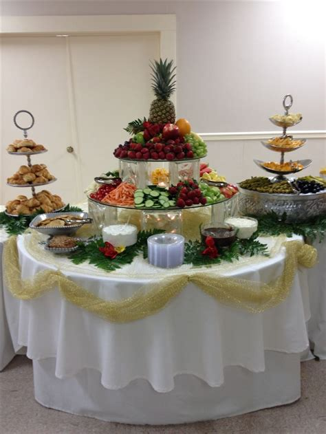 Veggie Table by Fruit Veggie Table Shady Oaks Catering Buffet