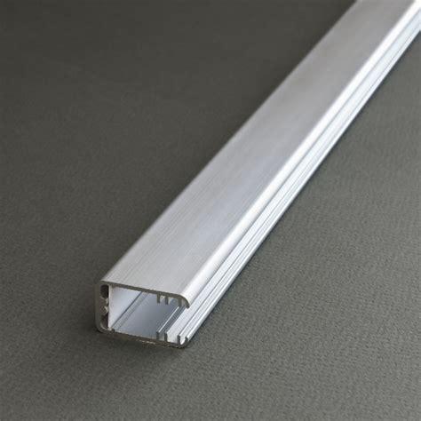 Profil Pour Verre 8 Mm 7862 by Kit Profil 233 Led Aluminium 2m Encastrable Sur Etagere 8mm