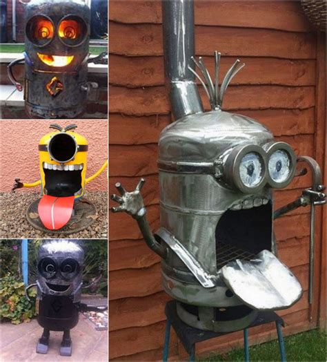 how to make firepit how to make a minion firepit pictures photos and images